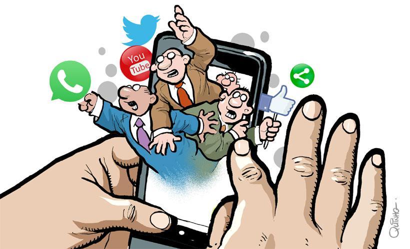 Candidatos deverão usar redes sociais na disputa municipal seguindo o que  fez Bolsonaro na campanha para Presidente – Jornal A Gazeta